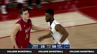NJIT Highlights vs. Kean 11-22