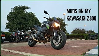 my kawasaki z800 mods review ft sc project crt exhaust