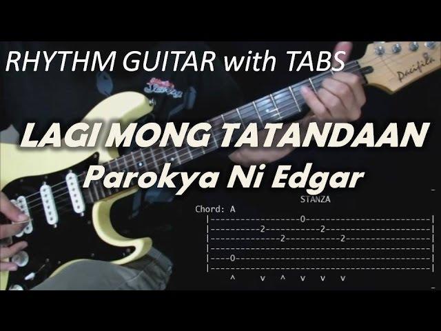 Lagi Mong Tatandaan - Parokya Ni Edgar (Rhythm Guitar Cover ...