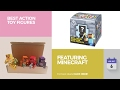 default - Minecraft Collectible Figure Mystery Blind Box (Styles May Vary)