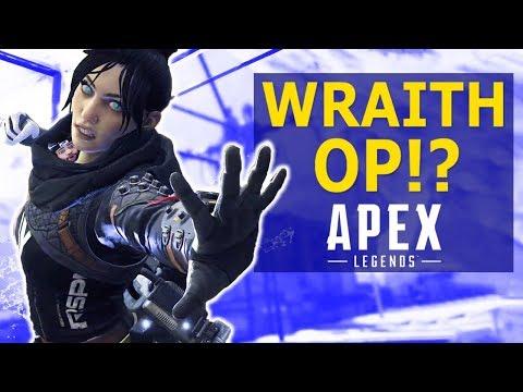 WRAITH OP!? - APEX LEGENDS GAMEPLAY   HIGH KILL FUNNY GAME Ft. Myth & Hamlinz