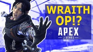 WRAITH OP!? - APEX LEGENDS GAMEPLAY | HIGH KILL FUNNY GAME Ft. Myth & Hamlinz