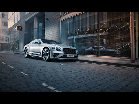Continental GT Speed – Switch into thrill mode   Bentley Motors