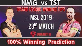 Nelson Mandela Bay Giants vs Tshwane Spartans 23rd Match Dream11 Prediction NMG vs TST Dream11 Team