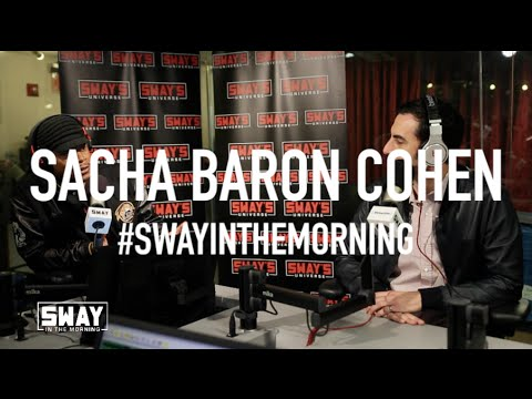 Sacha Baron Cohen on Award Show Antics: Landing on Eminem & Spilling Ashes on Ryan Seacrest