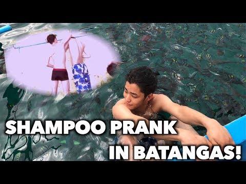 SHAMPOO PRANK IN BATANGAS!!!!!!!!!!!!!!!!!!