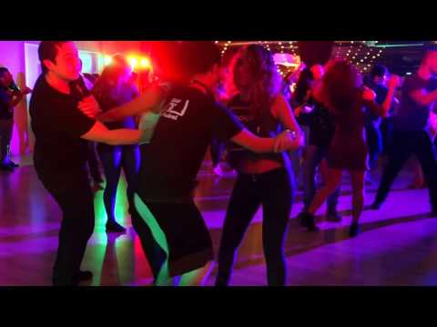 00098 AMS ZNL Zouk Festival Social Dances 2017 Clo & Sophie ~ video by Zouk Soul