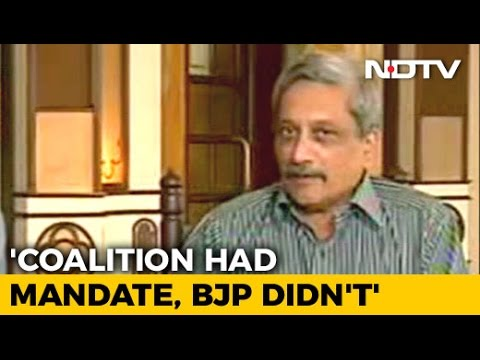 Decision To Form Government Taken In 12 Hours, Says Manohar Parrikar