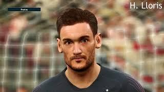 PES 2019   Faces ft Messi , Salah , Pogba etc