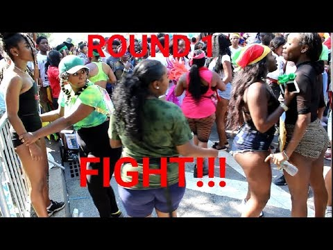 BROOKLYN LABOR DAY PARADE--ROUND 1!!! FIGHT...