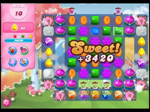 Candy Crush Saga Level 3144 - NO BOOSTERS