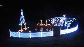 Christmas 2015 Light Show: Do You Hear What I Hear by Spiraling