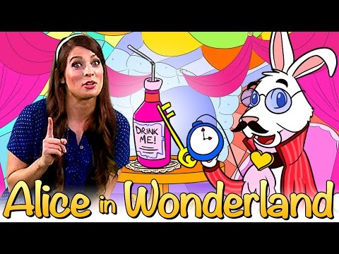 Alice in Wonderland | Part One - Story Time with Ms. Booksy at Cool School