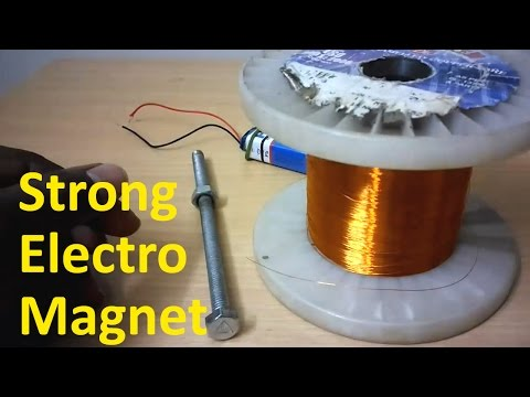 What is Electro-Magnet? How to make Strong Electro Magnet?