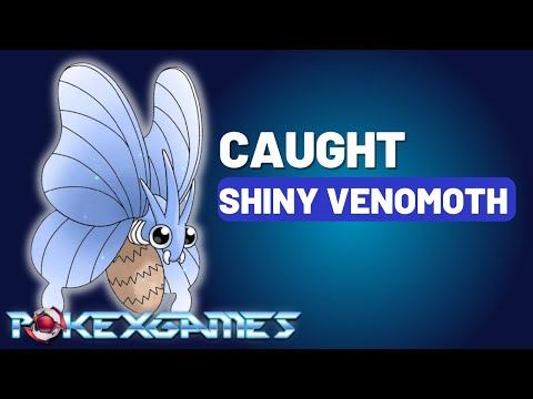PxG - Catch Shiny Venomoth!