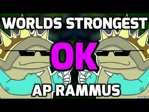 Season 6 Break the Meta!  World's Strongest AP Rammus!