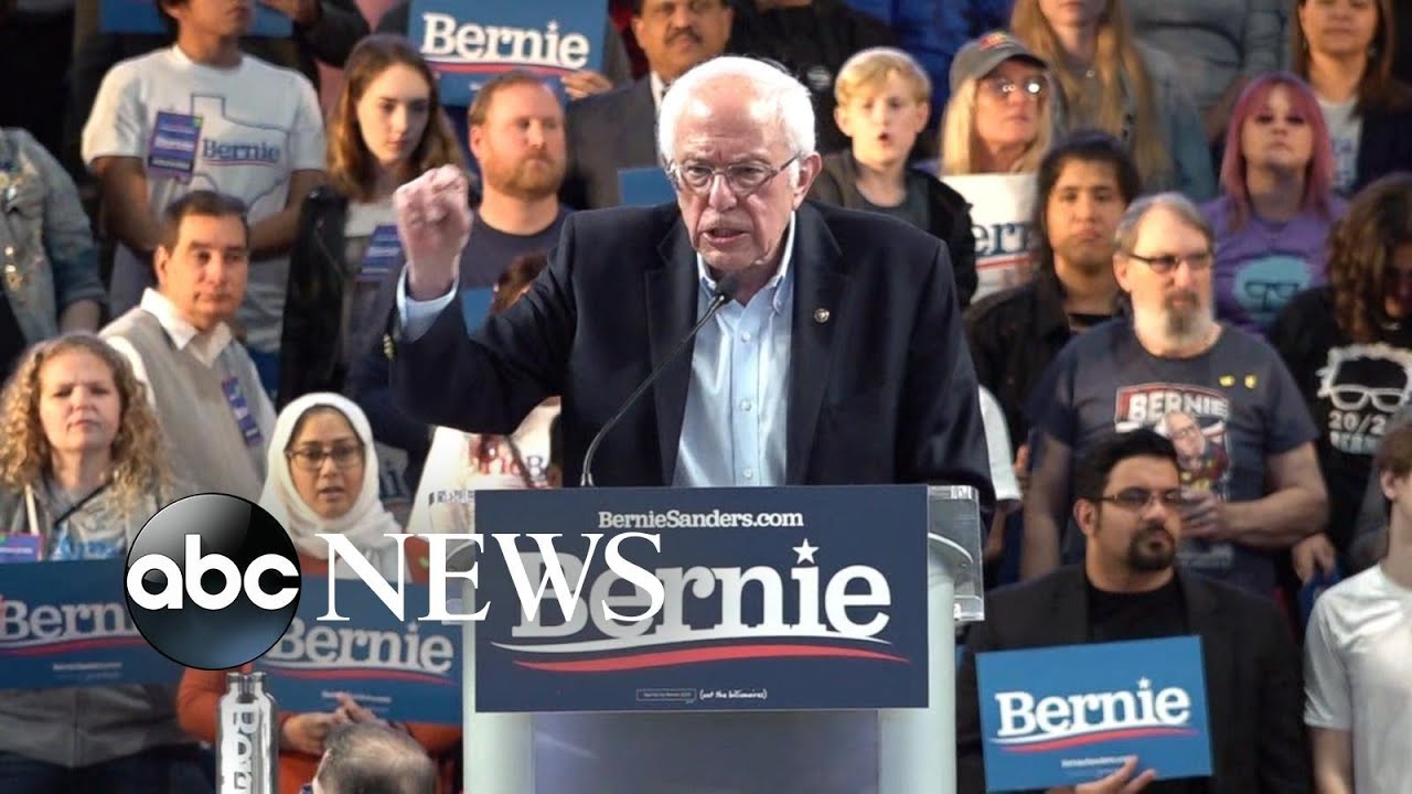 Sanders' Nevada win makes him clear front-runner in race for Democratic pick