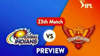 srh vs mi dream11 team