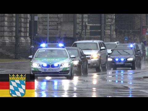 [MÜNCHEN] NATO-Sicherheitskonferenz 2017 - VIP Kolonne zum Bayrischen Hof