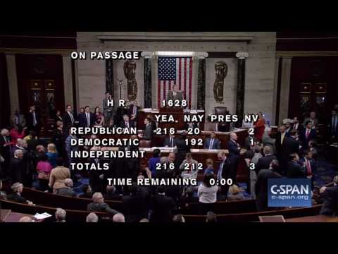 U.S. House of Representatives passes American Health Care Act (C-SPAN)