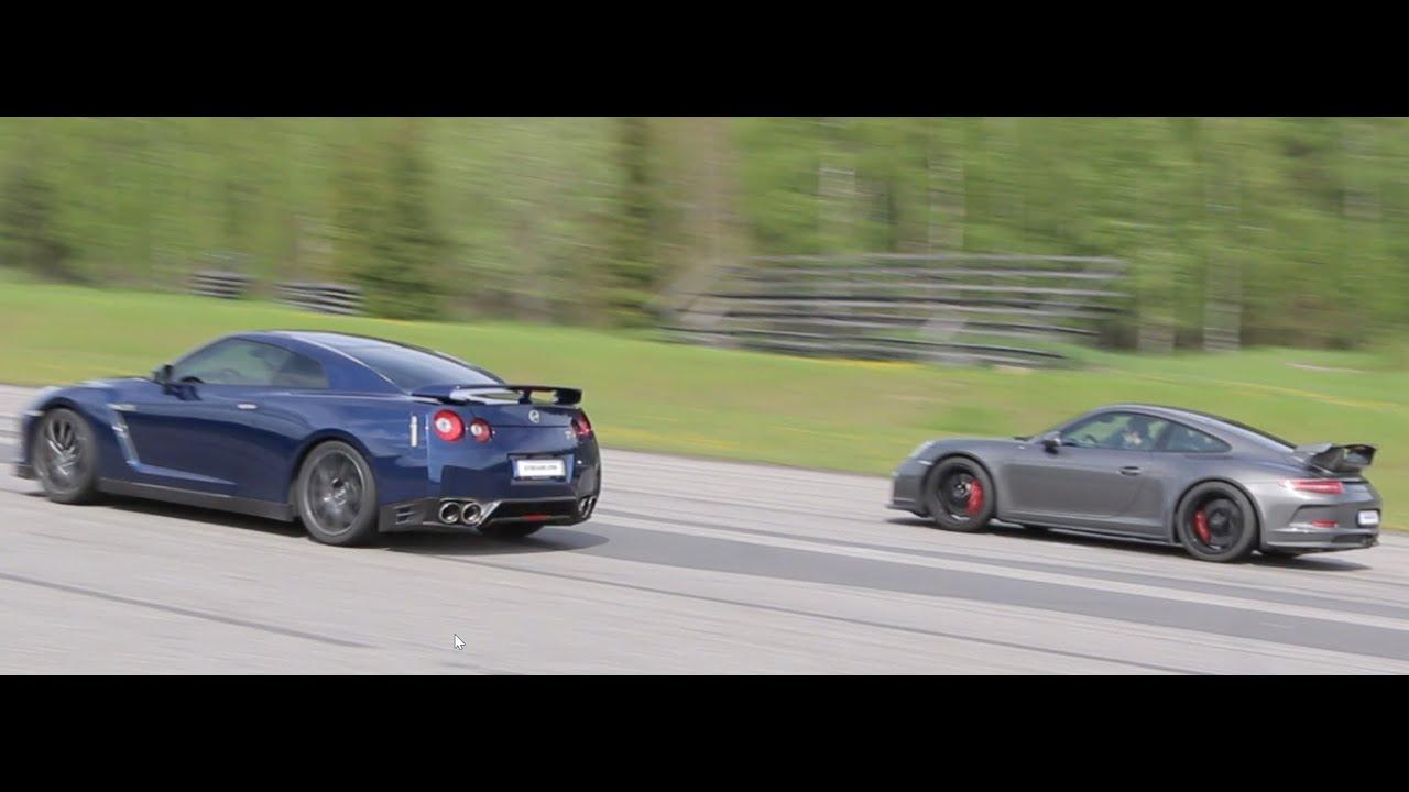maxresdefault Inspiring Nissan Gtr Vs Porsche 918 Spyder Cars Trend