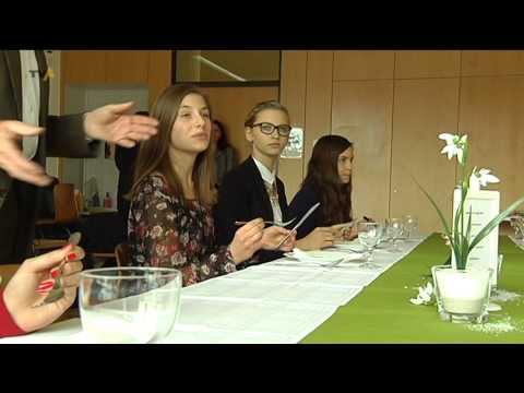 Gute Manieren wollen gelernt sein: Benimm-Kurs an der Realschule Obergünzburg