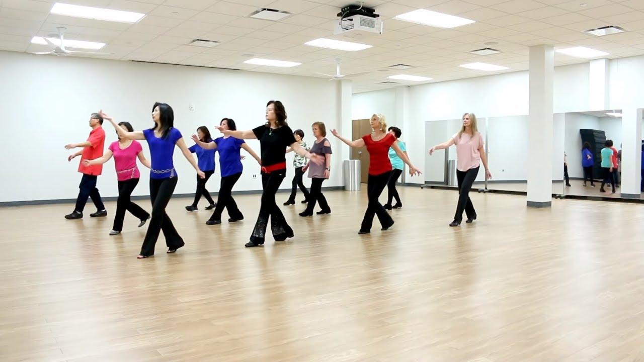 Both - Line Dance (Dance & Teach in English & 中文) - YouTube