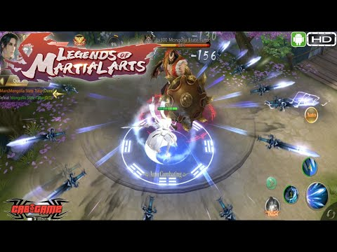 Legends Of Martial Arts Android Gameplay MMORPG