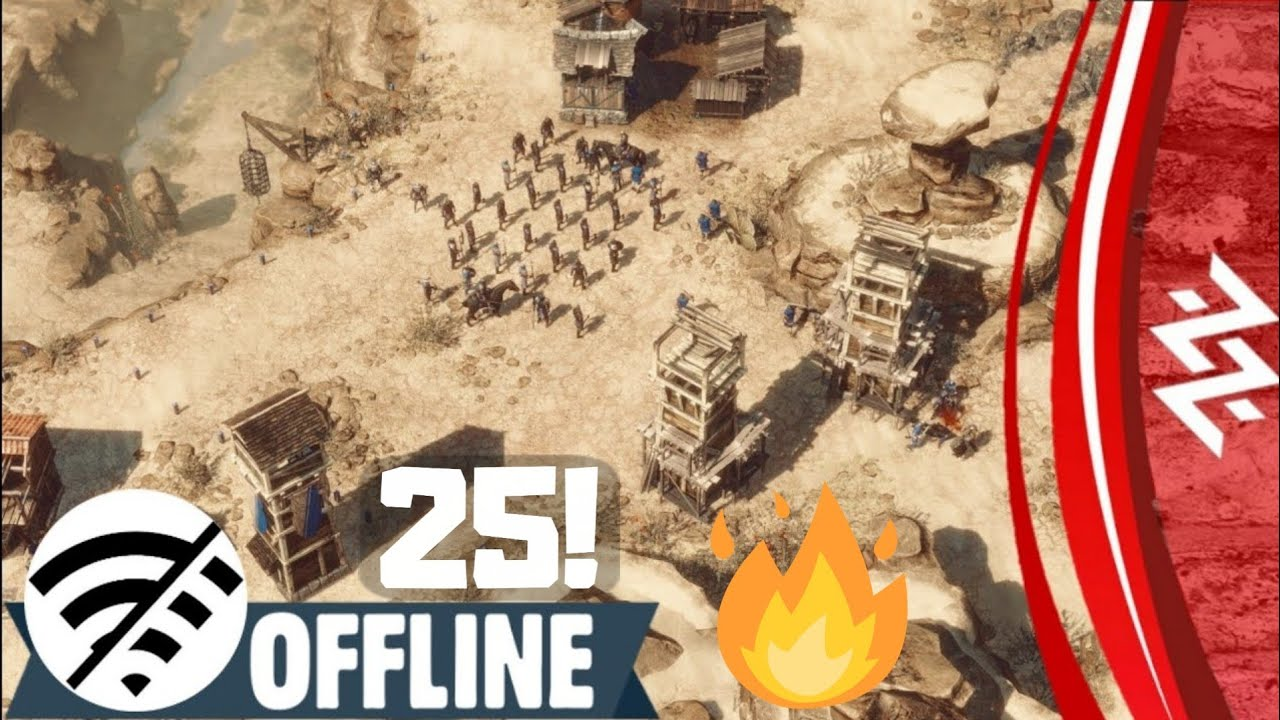 Finally! Top 25 OFFLINE Strategy Games For Android 2020 | No Internet? No Problem!