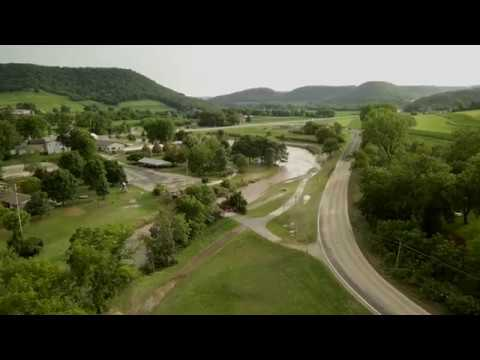 Coon Valley, WI Flood [Aftermath] Captured By Drone (07/20/17)