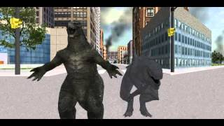 GODZILLA and ZILLA banana song