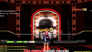 Superstar LIVE: Born for you by David Pomeranz (Battle Karaoke Expert)