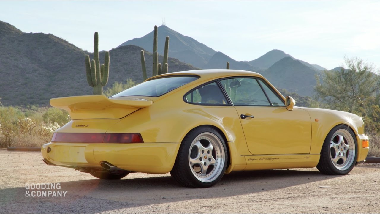 Revealed 1993 Porsche 964 Turbo S Leichtbau Youtube