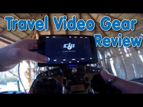 Travel Video Gear Review: Lightbridge, H3-3D, Phantom 2, Drone Packs Alpha, Tilopa BC & More!