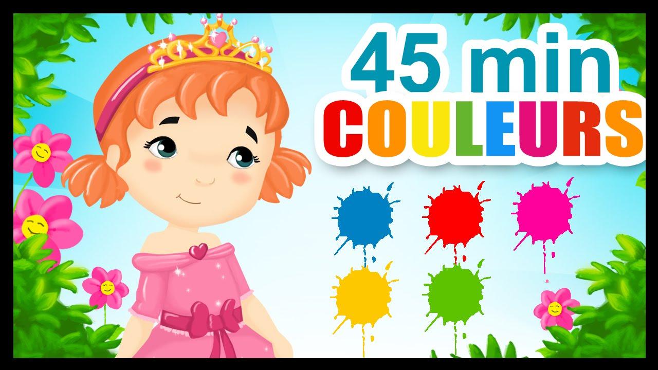 14a69d21f97f0 Les princesses et les couleurs - Comptines pour enfants - YouTube