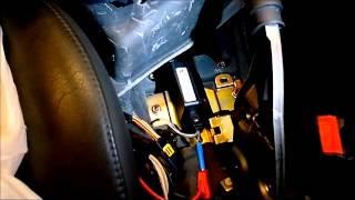 Vérification d'un capteur d'accélération d'un système ESP. Renault LAGUNA 1.9l dci;