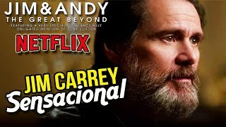 JIM CARREY DE VOLTA | Jim and Andy! (Recomendação Netflix)