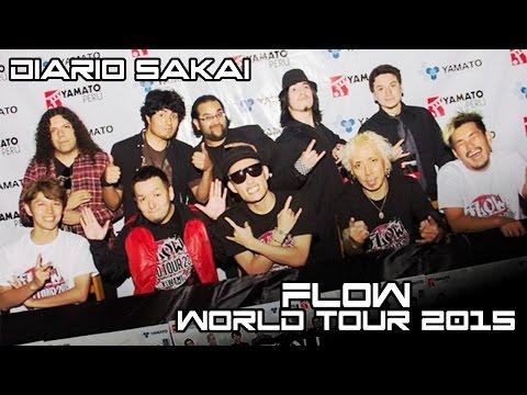 Diario Sakai:「FLOW WORLD TOUR 2015 極」
