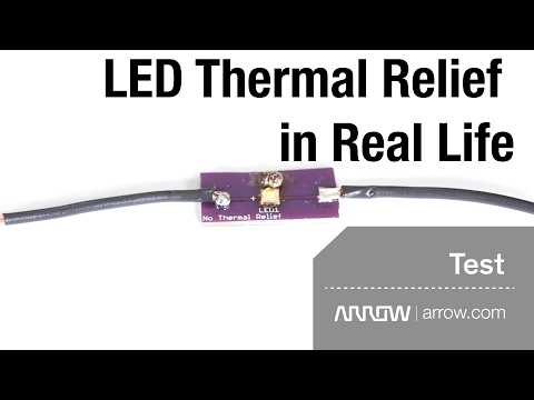 LED Thermal Relief in Real Life