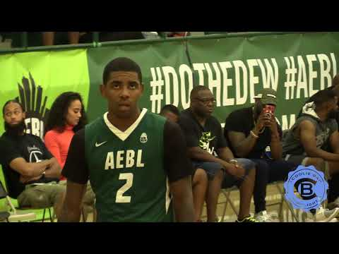 Newest Boston Celtics Kyrie Irving #UNCLEDREW Drops 42 At AEBL Hoops ProAM