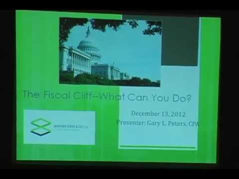 Financial Cliff Part 1