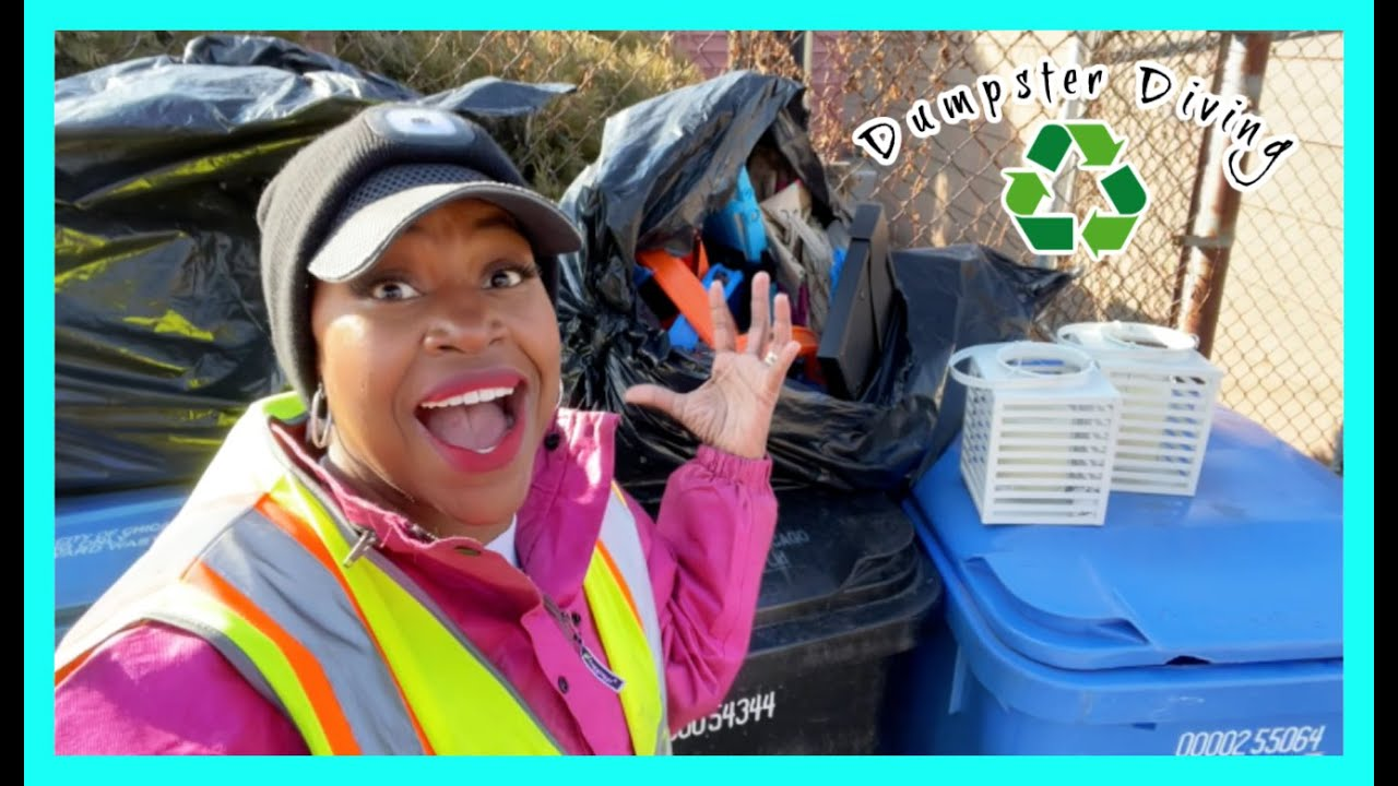 Dumpster Diving: MYSTERY BAGS & BAGS FULL OF TREASURES!!!!! SWEET!!