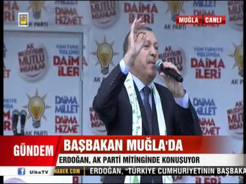 Başbakan Recep Tayyip Erdoğan Ak Parti Muğla Mitingi FULL KALİTE 02.03.2014