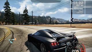 Need For Speed Hot Pursuit (2010) | Seacrest Tour | Koenigsegg CCXR