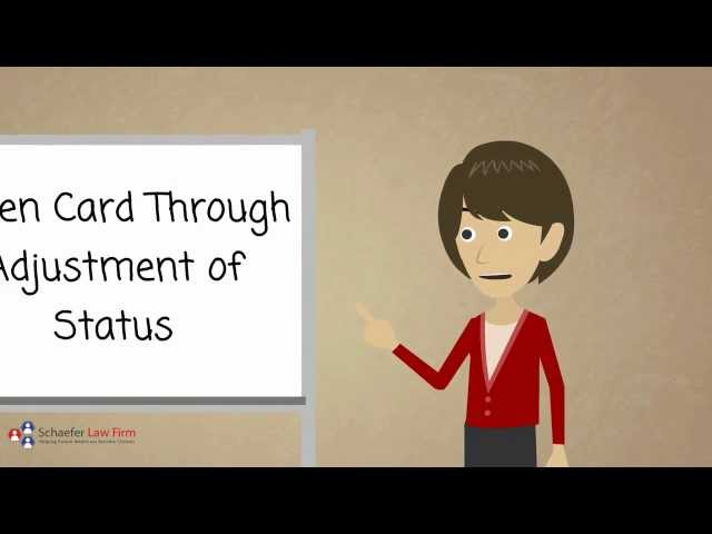 Green Card Through Adjustment of Status - Boise Immigration Attorney