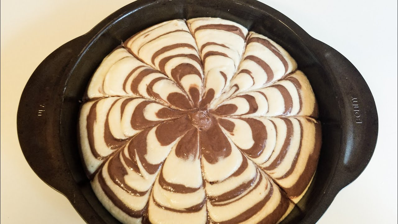 የዜብራ ኬክ አሰራር ( How to make Zebra Cake)//ETHIOPIAN FOOD