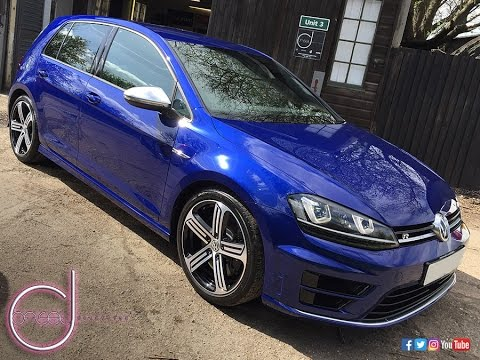 Vw Golf R Lapis Blue Paint Correction Kamikaze Collection Enrei Coat By Offset Detailing Es