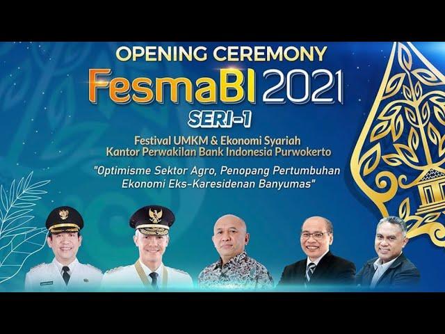 FESMABI 2021 SERI-1 HARI PERTAMA PERSEMBAHAN KANTOR PERWAKILAN BANK INDONESIA PURWOKERTO