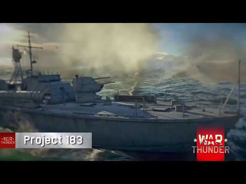 Soviet  Navy -Project 183 MTB and The Soobrazitel'nyi class destroyer(WAR THUNDER NAVAL FORCES)