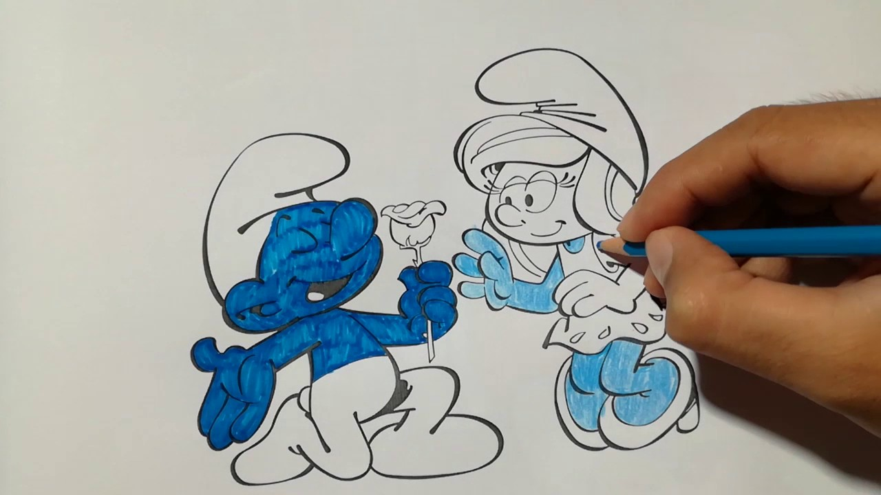Smurfs Coloring Page in 2020 | Love coloring pages, Coloring pages, Nemo coloring  pages | 720x1280